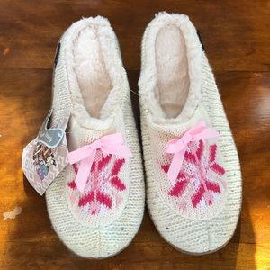 MUK LUK slippers-ladies 10-New with tags